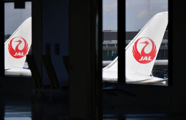 JAL、国内線利用率45.5% 国際線23.0%、20年12月