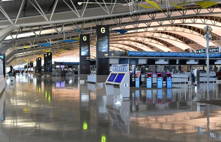 関空、6月の旅客72%増14万人 19年比95%減