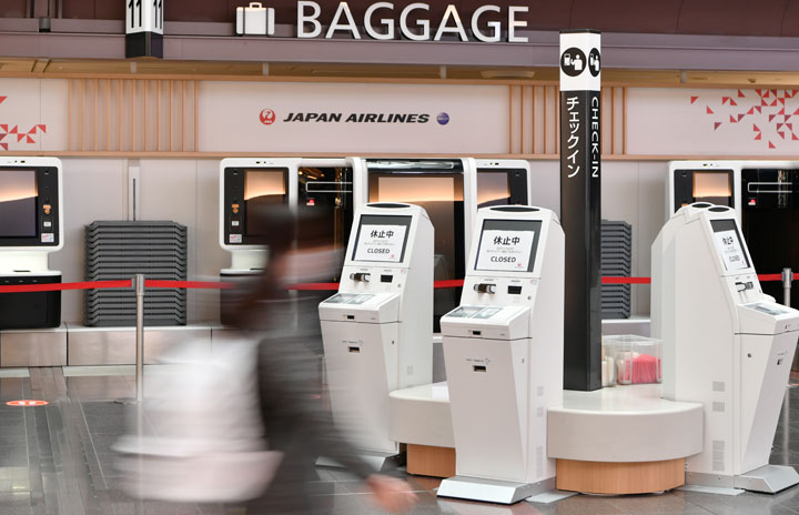 JAL、通期純損失3000億円に 4-12月期は2127億円