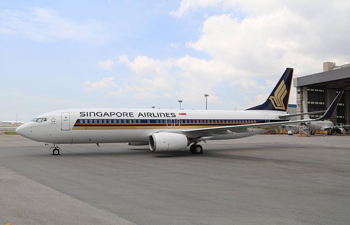 シンガポール航空、3月から737導入 シルクエアー統合で近距離機材