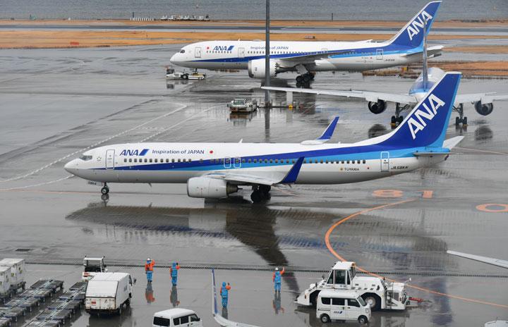 ANA、23日まで臨時便継続 羽田-仙台など3路線