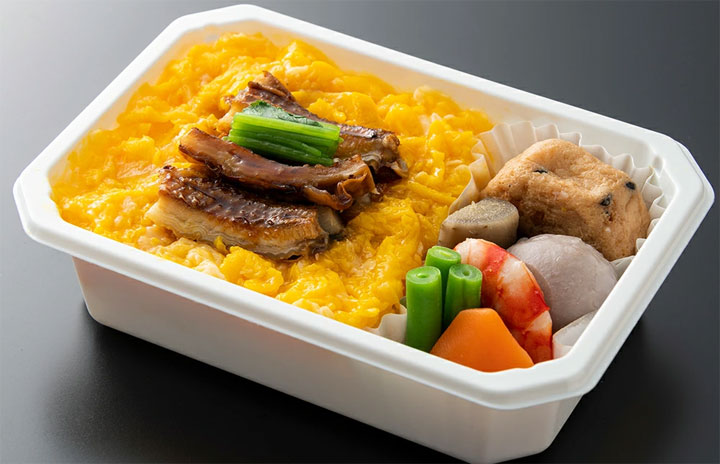 ANA、機内食通販新メニュー17日発売 鰻玉丼やご当地カレーも
