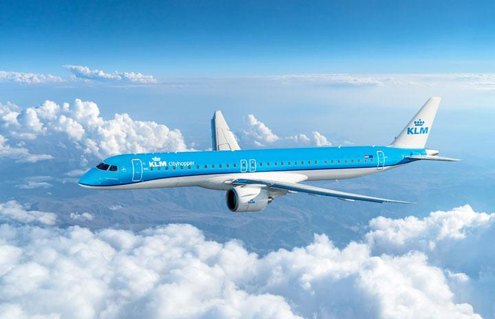 KLMシティホッパー、E195-E2初受領