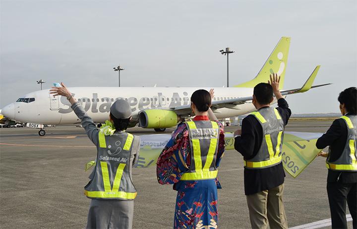 ソラシド、GWは全便運航 5月減便率13%