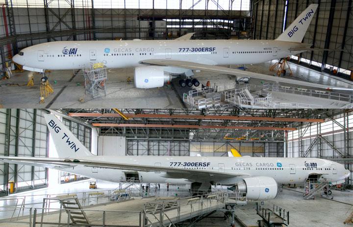 777-300ER改修貨物機、開発の中間段階に GECASとIAI「ビッグツイン」