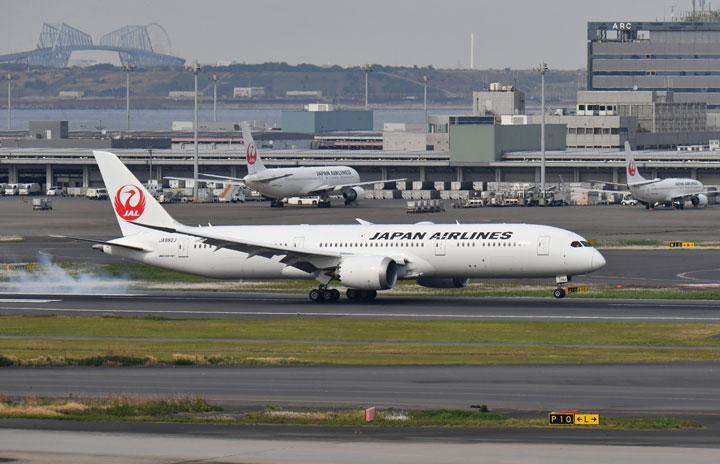 JALの787、51機目は羽田到着 長距離国際線仕様