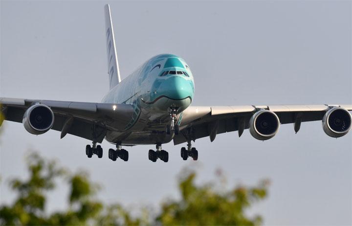 ANAのA380、ほほ笑みの2号機も成田帰着 初の重整備終えアモイから